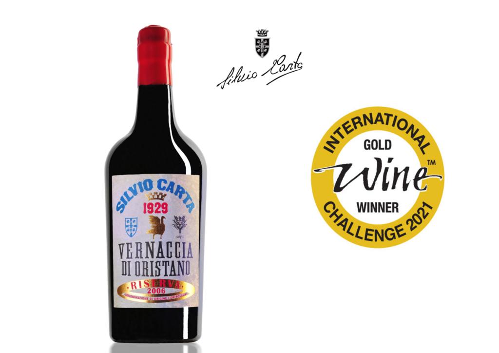 La Vernaccia di Oristano DOC Riserva 2006 regala alla Sardegna l'unico oro dell'IWC – International Wine Challenge di Londra